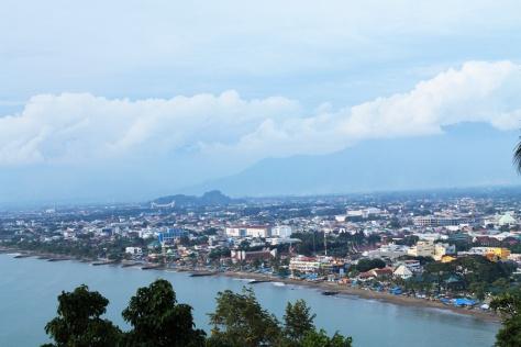 Kota Padang dari Bukit Siti Nurbaya