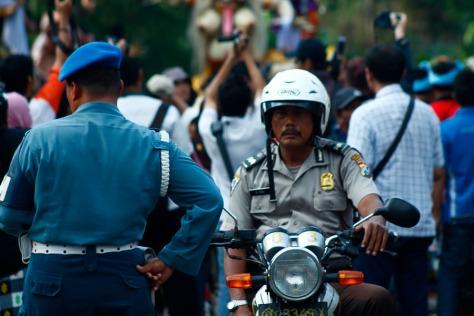 Bpk Polisi dan Tentara Akur