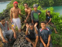 Bersama temans UKMK St. Paulus Unitomo Surabaya
