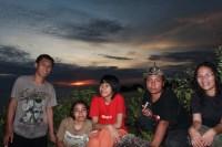 Sunset di Pulau Sempu